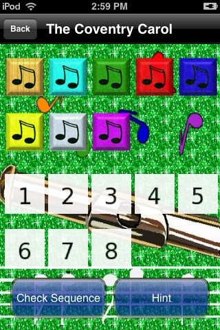 Screenshot iPuzzleXmasFree
